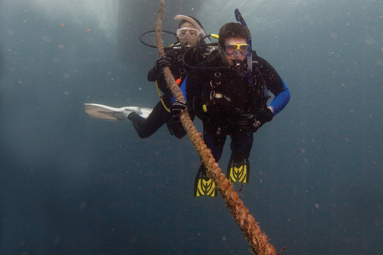 divers rope